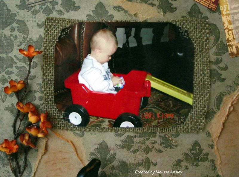 Eli in Wagon Close up bottom left
