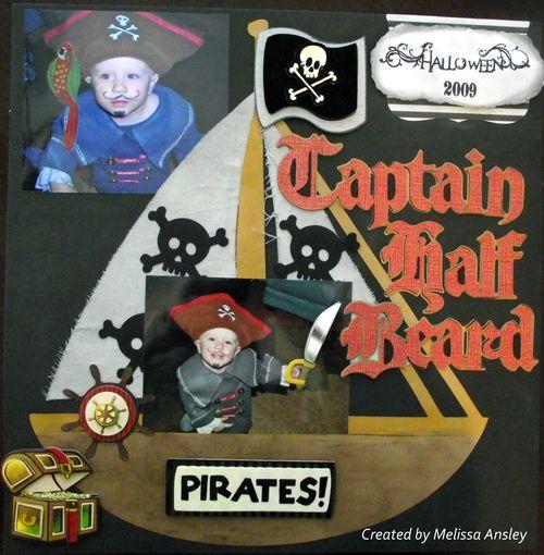 Captain half beard