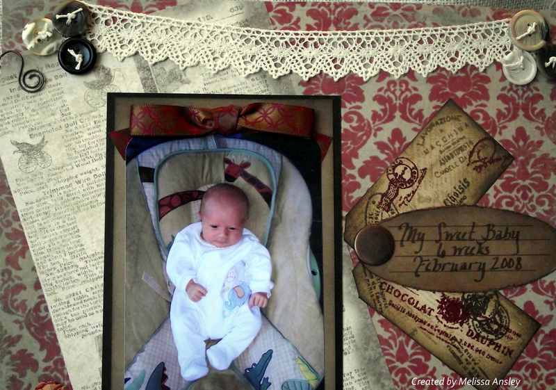 Eli Baby Bouncer Lace