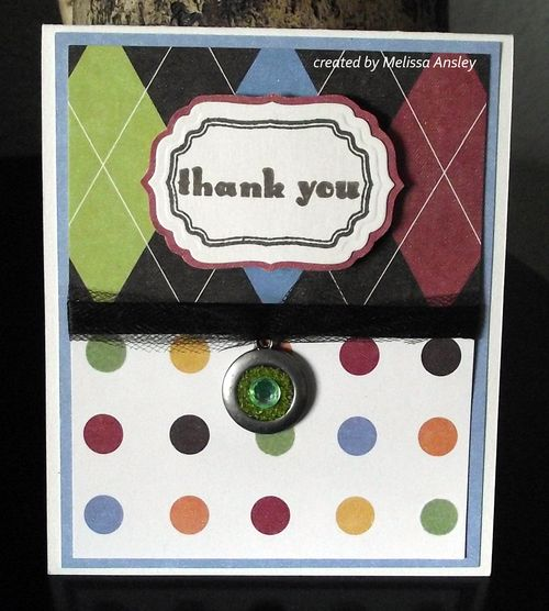 Thank you Card whole