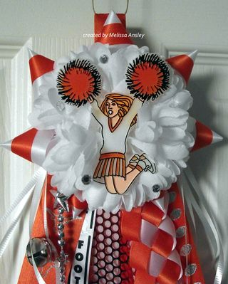 Cheerleader pee wee top
