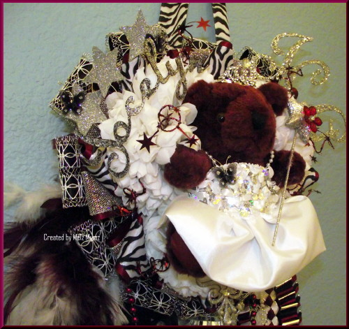 Triple Junior Homecoming Mum 2012 Left
