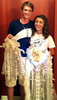 Matching Senior Homecoming Mum and Garter