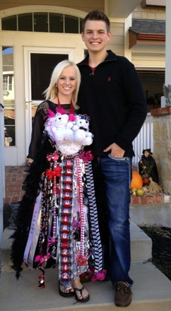 MelzMumz Triple Homecoming Mum Colleyville