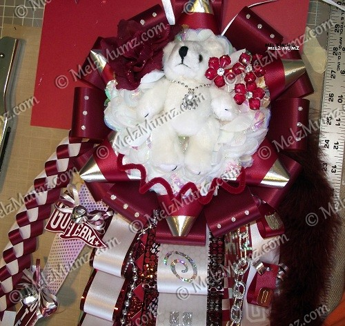 How To Make A Homecoming Mum Tutorial Vintage Scrapping